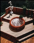 Deck around Hot-Tub