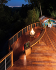 Ipe Deck with Cable Rails