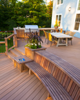 Deck with Entertainment Area