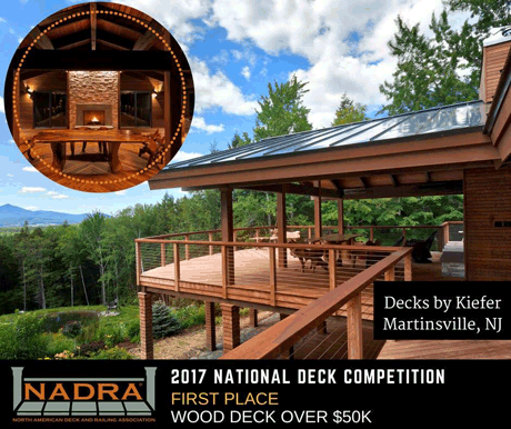 2017 Award Winning Mega Deck